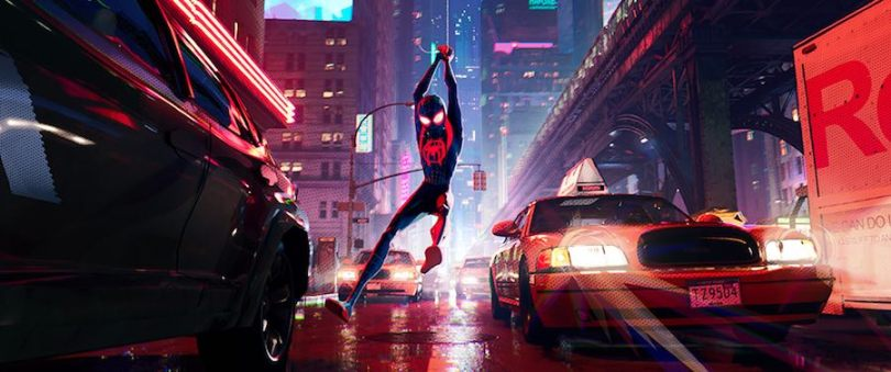 spiderman into the spiderverse colour grade