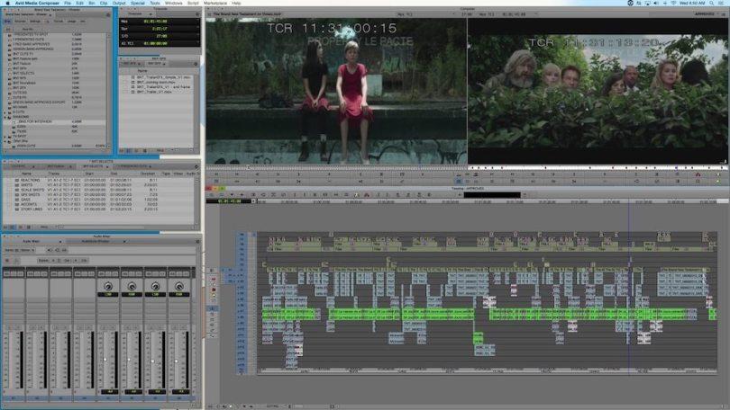 Trailer Editing Timeline