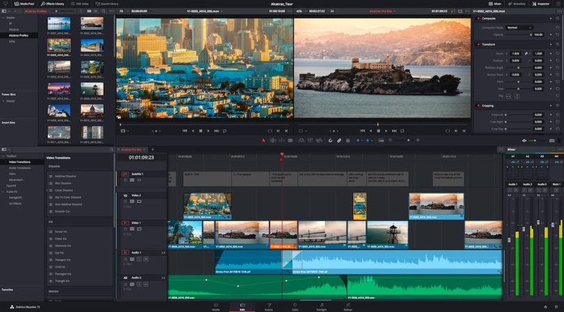 DaVinci Resolve 16 new features explained