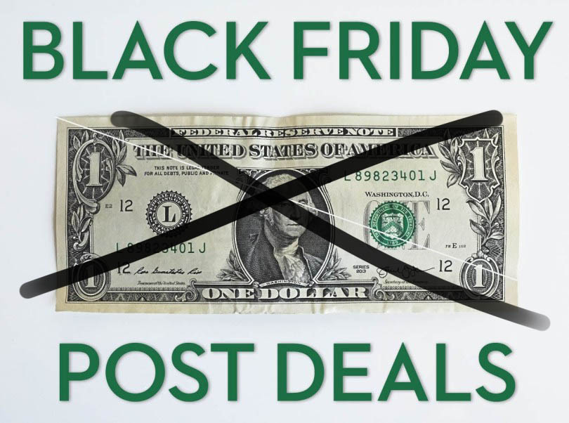 Black Friday Post Deals 2019