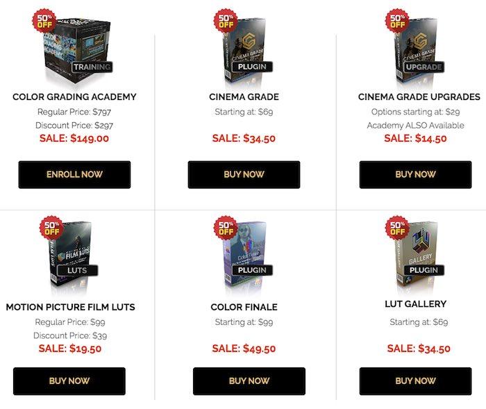 colour grading central black friday sale