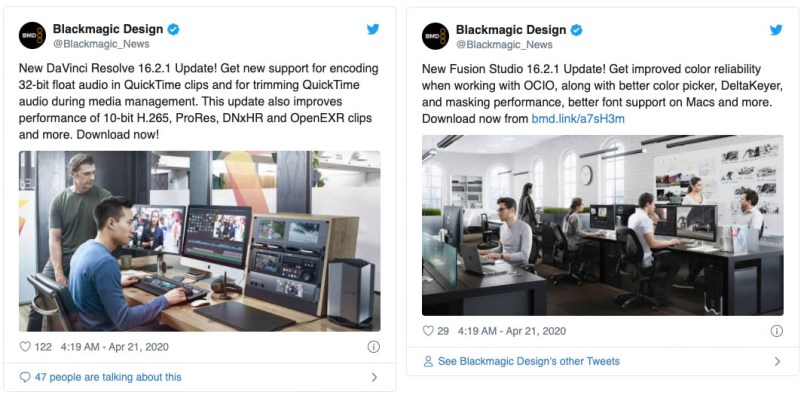 NAB 2020 BMD DaVinci Resolve updates