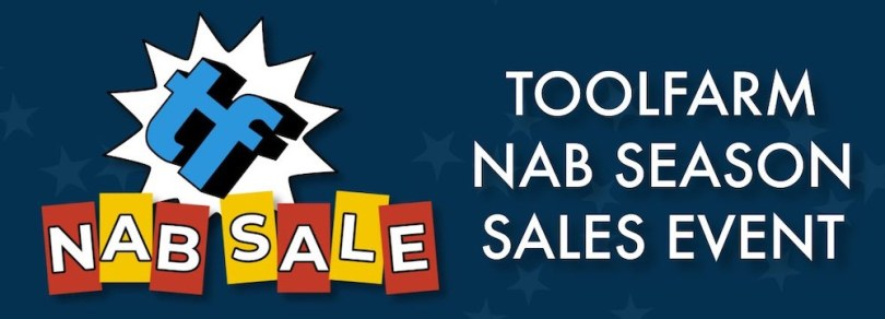 Toolfarm NAB discount codes and sales 2020