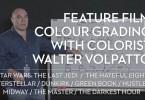 feature film colour grading davinci resolve node tree