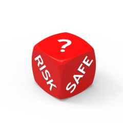 Risk or Safety dice image