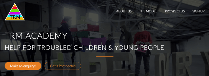 A model for helping troubled kids to recover…