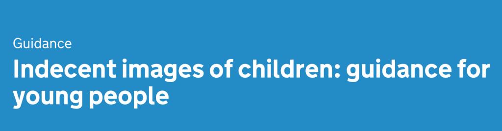 Indecent images of children