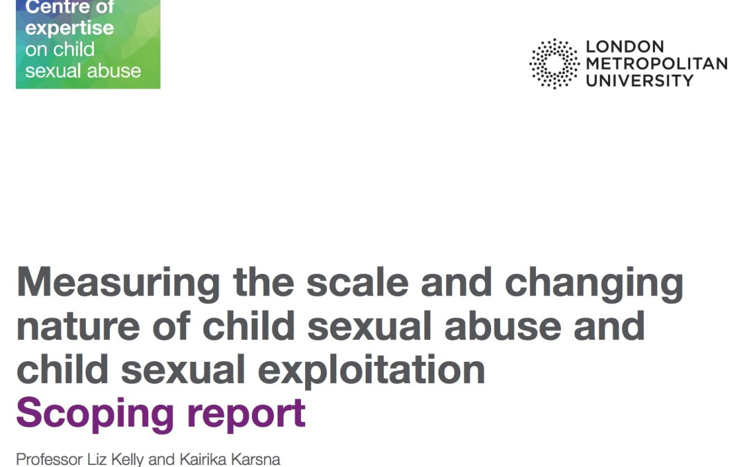 Key Messages Report – Scale & Changing Nature of CSA & CSE (undated report)