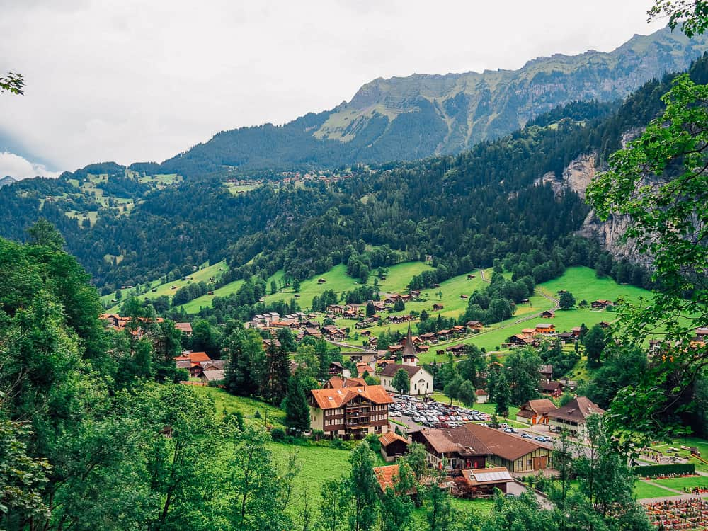switzerlannd itinerary