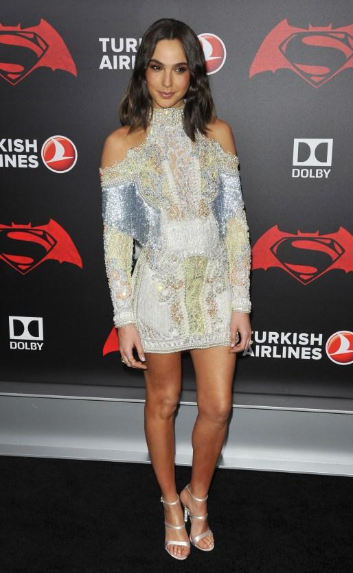 Gal Gadot attends the 'Batman V Superman Dawn Of Justice' N.Y. Premiere_12