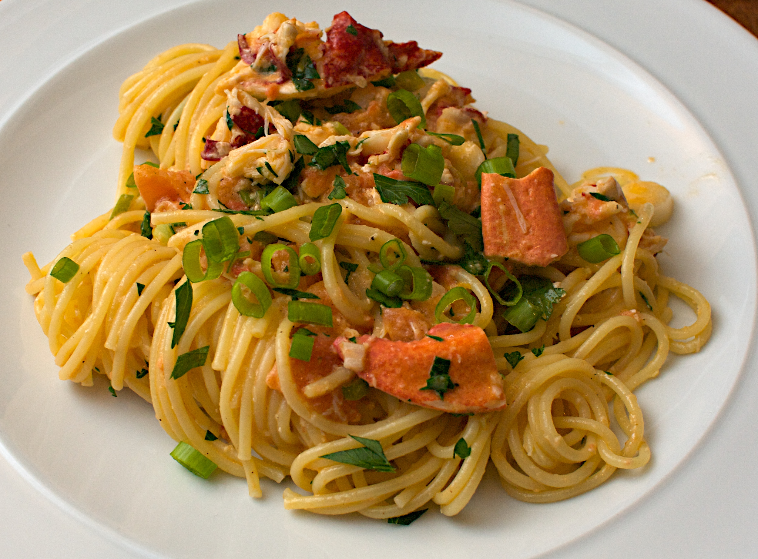 Lobster Spaghetti Recipe Dishmaps