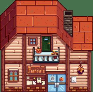 Pierre's General Store, tempat tinggal Abigail