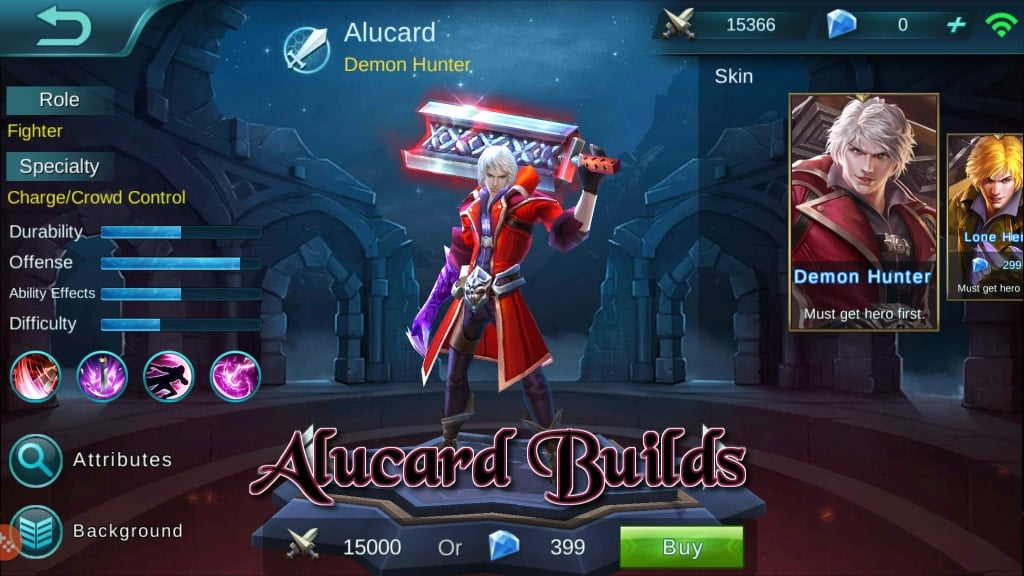 Panduan Mobile Legends Bang Bang – Hero Builds: Alucard