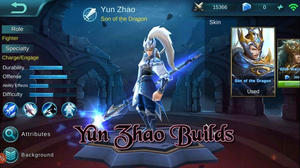Panduan Mobile Legends Bang Bang – Hero Builds: Yun Zhao