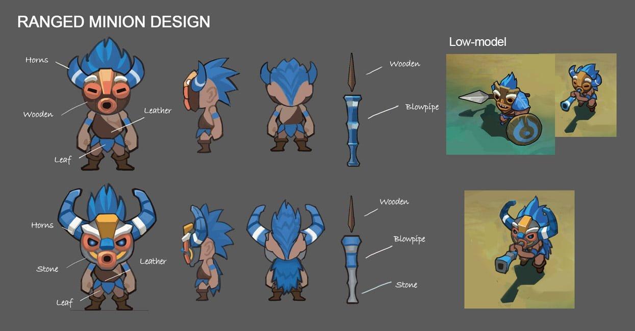 Update Besar Desain Map Monster Minion Mobile Legends Bang Halaman