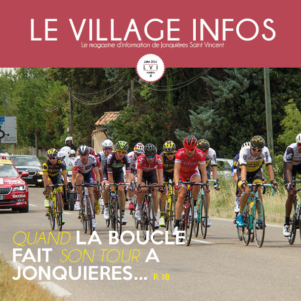Le village info de Juillet est en ligne !