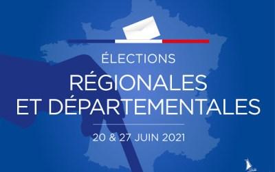 Élections départementales et régionales : les résultats du 1er tour