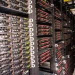 SoftLayer.com data center rack
