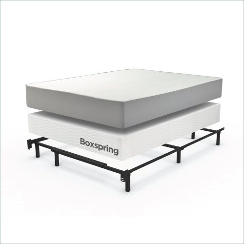 Zinus Compack 6 Leg Support Bed Frame For Box Spring Mattress Set Twin