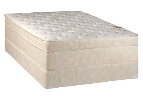Firm Queen Mattress And Box Spring Continental Sleep 13 Inch Euro Top Pillow Foam Encased Orthopedic