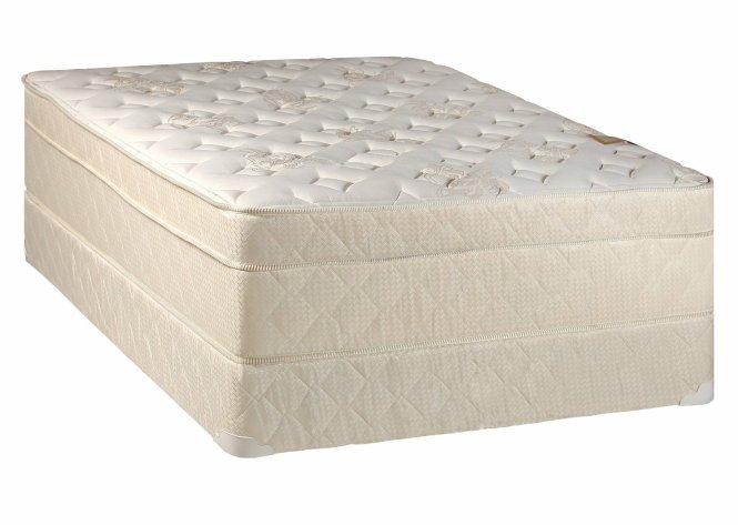 Continental Sleep Mattress Euro Top Pillow Firm Queen And Box Spring