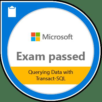 Passed the 70-761 exam, Querying with Transact-SQL! - Jon Shaulis DBA
