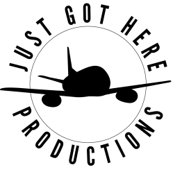 Just Got Here Productions Logo