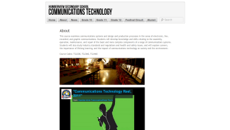 Communications Technology About