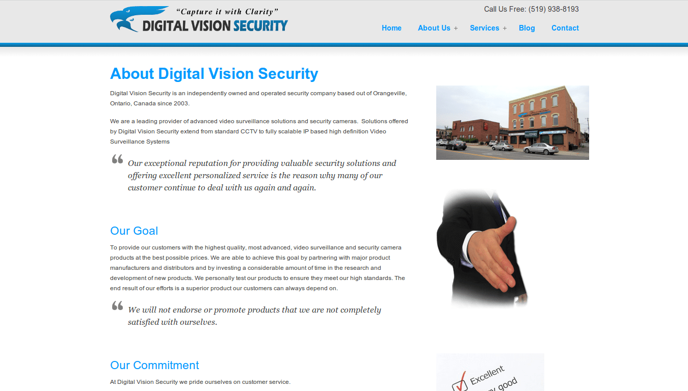 Digital Vision Security About