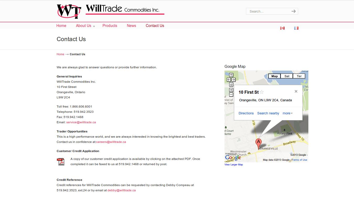 WillTrade Contact