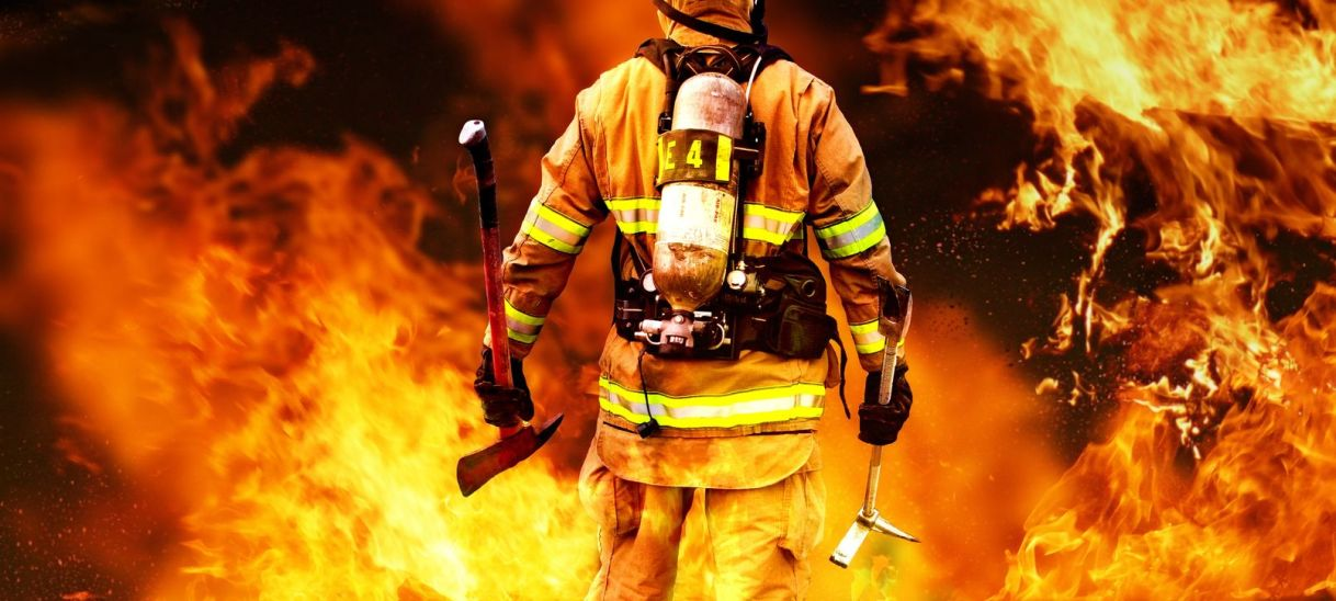 Leadership means Running Towards the Fire