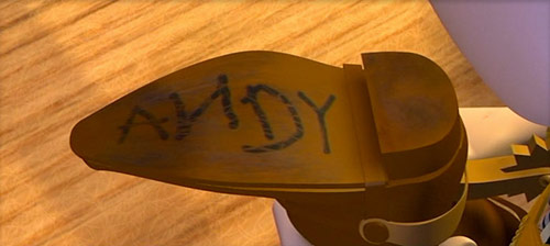 Image result for toy story andy boot love gif