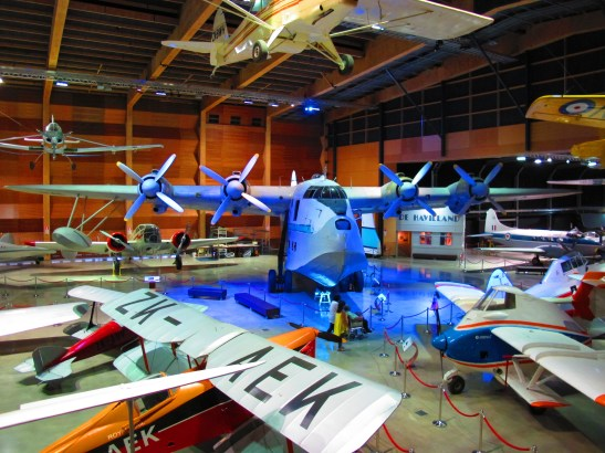 MOTAT Aviation Display Hall
