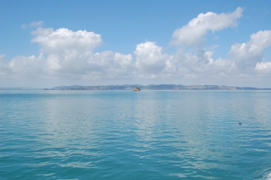 Waiheke Island from the water