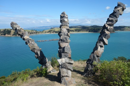 Chris Booth Sculpture, Rotoroa Island