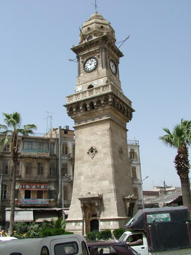 DSCF1896 Aleppo Clock Tower
