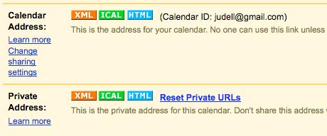 Free online calendar publishing, part 2: Google Calendar