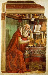 Jerome by Domenico Ghirlandaio