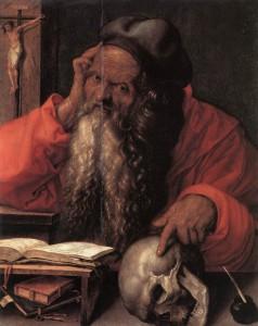 Jerome by Albrecht Durer