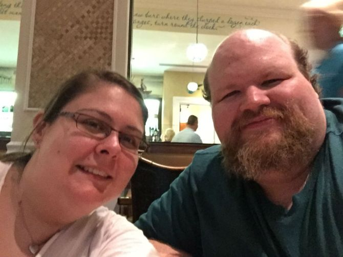 I still get some time away from work though - here is a picture of my wife, Karey, and I from our trip this summer to Pensacola Beach (We were celebrating our 10 year wedding anniversary). If you happen to visit the Teacher Education, Leadership, and Research department, you might meet Karey - she's the senior secretary there!
