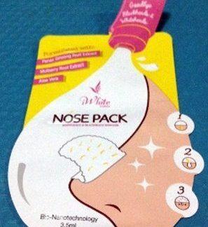 10 Iwhite korea nose pack new