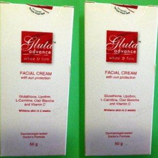 2 Gluta Advance cream new
