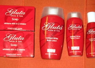5 Gluta white and firm set new