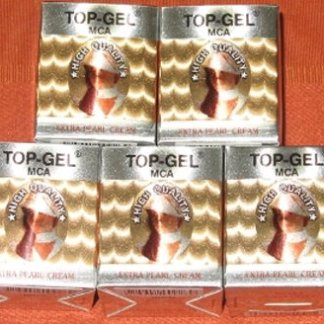 5 top gel extra pearl cream new