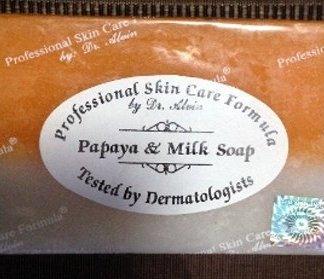 50 spcf papaya & milk soap new