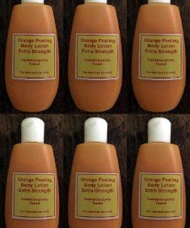 6 orange peeling lotion new