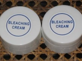Bleaching cream new