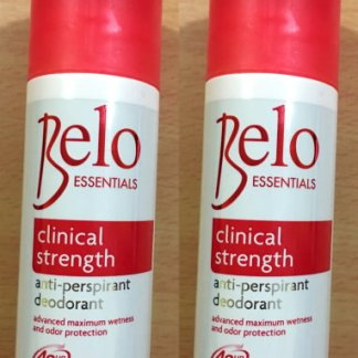 belo deo clinical strength 250g new