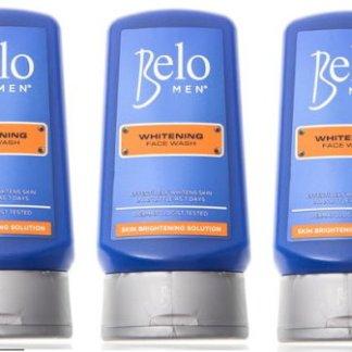 belo men face wash 2 new