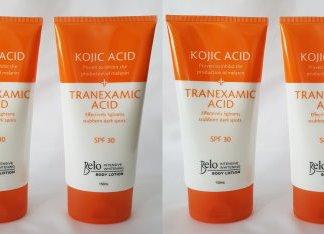 belo tranexamic body cream